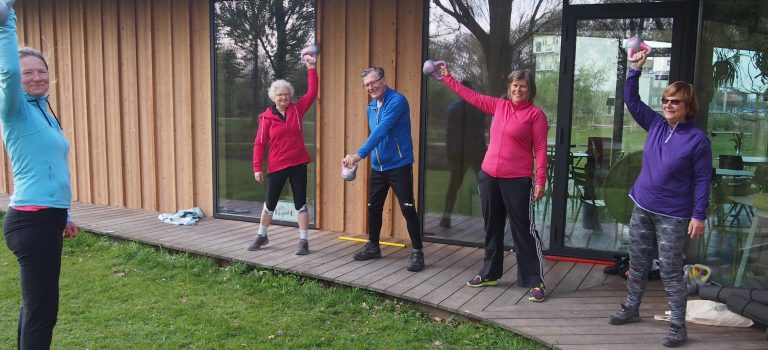 Open dag bij Vitality Club Stevenshof in Leiden