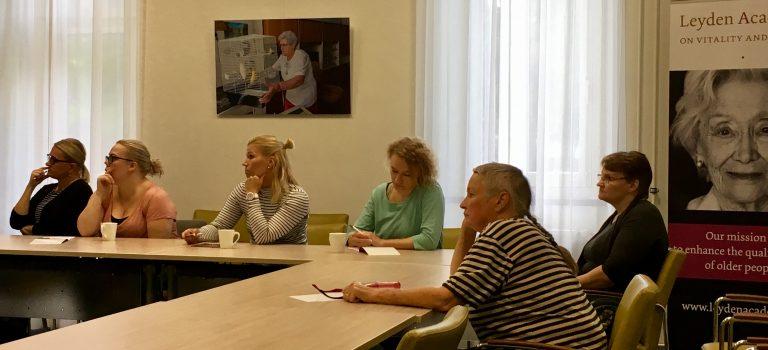 Finse delegatie verkent Nederlandse ouderenzorg