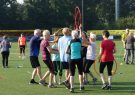 Boot camp for older adults; healthy ageing without professionals