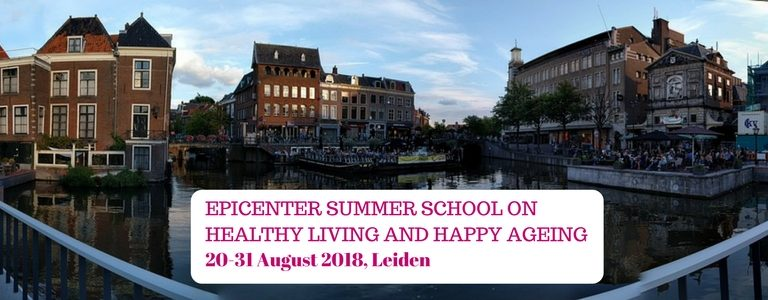 Summer School on healthy living and happy ageing
