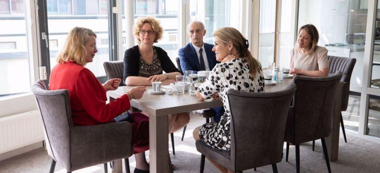 Met Koningin Máxima in gesprek over leefplezier en vitaliteit