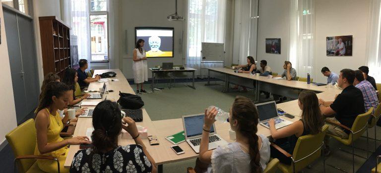 Amerikaanse studenten op bezoek in Leiden