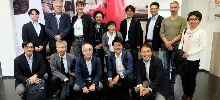 Japanners leren over Nederlandse zorg en welzijn
