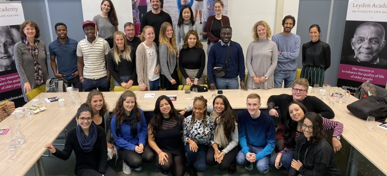 Future non profit managers visit Leyden Academy