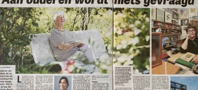 De Telegraaf: 'Aan ouderen wordt niets gevraagd'