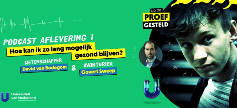 David van Bodegom in gesprek met Youtuber Govert Sweep