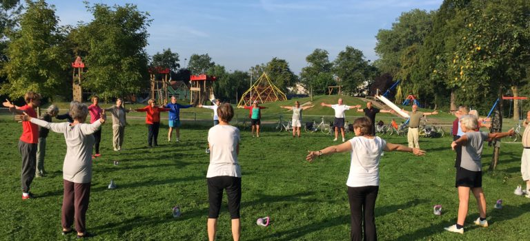 Successful Vitality Club can be set up in any neighborhood